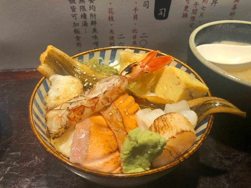 旨丼生魚片丼飯專賣店