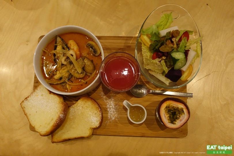 松果德意Laksa seafood慢食餐(