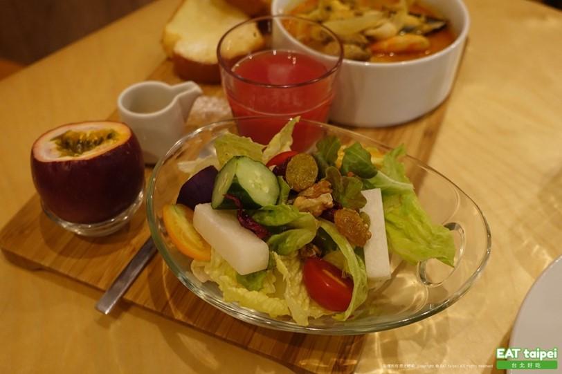 松果院子 松果德意Laksa seafood慢食餐(早午餐)