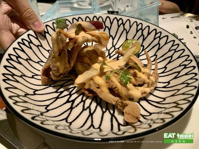 寶艾西餐廳 酥炸軟殼蟹
