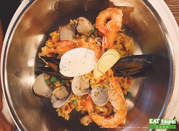 亞都麗緻巴賽麗廳 西班牙海鮮燉飯