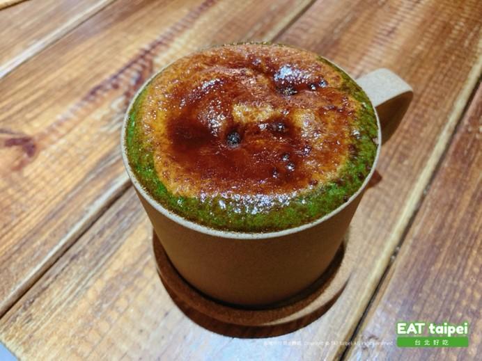 疍宅(蛋宅)小山園抹茶牛奶(熱、烤奶)-$160