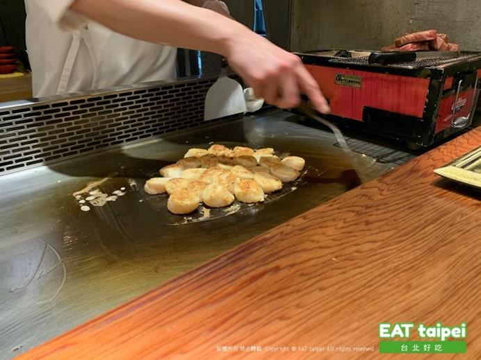 初魚鮨北海道大干貝EAT Taipei