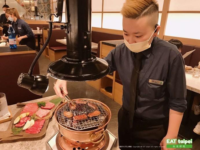 樂軒松阪亭前菜桌邊服務EAT Taipei