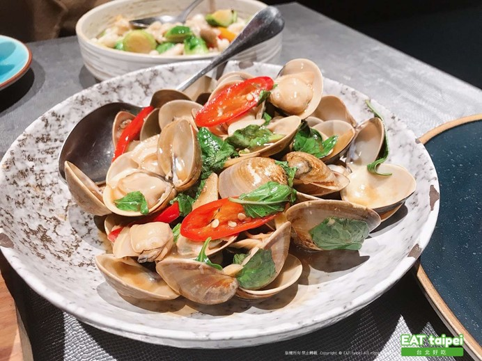 筷炒塔香炒蛤蜊 EAT taipei