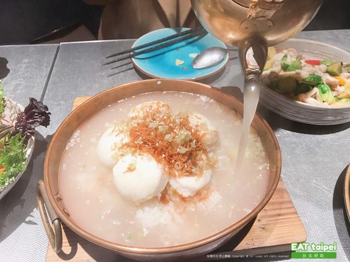 筷炒棉花干貝泡飯EAT taipei