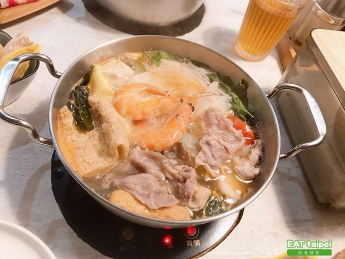 肉滿堂鍋物Cacti 原味海鮮豬肉鍋EAT taipei